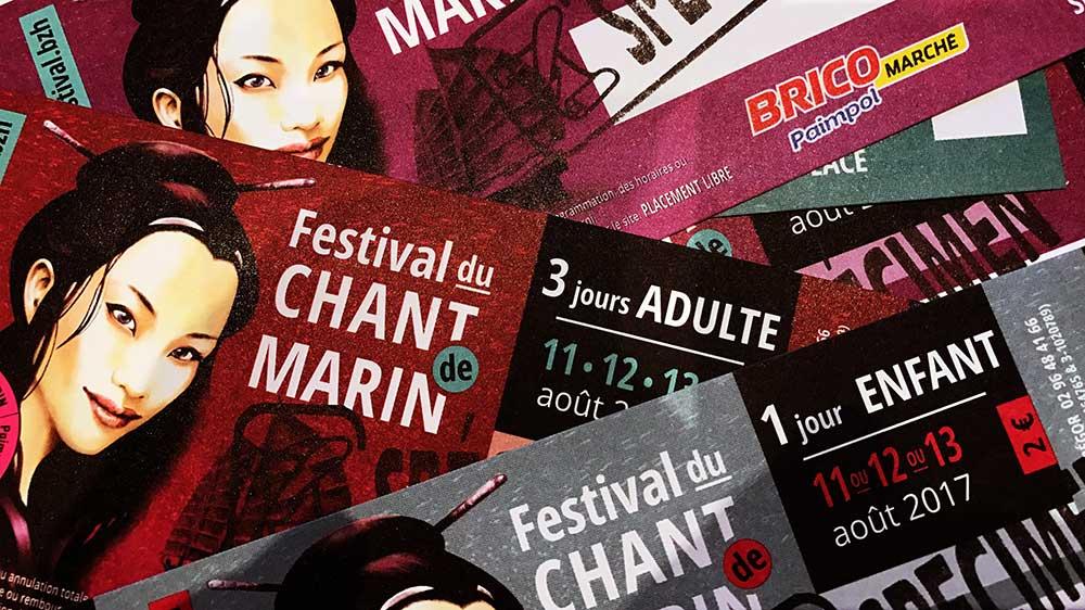 Interview d'Amandine Dubreuil, coordinatrice du festival du chant de Marin àPaimpol
