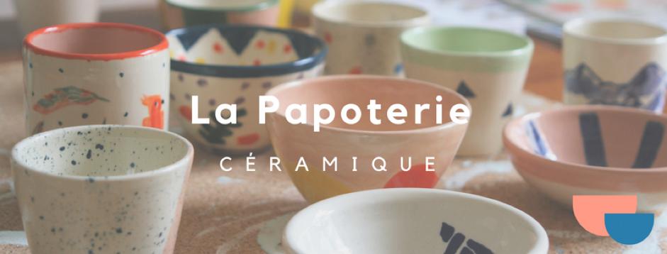 Témoignage de la Papoterie – ateliers de décor sur céramique