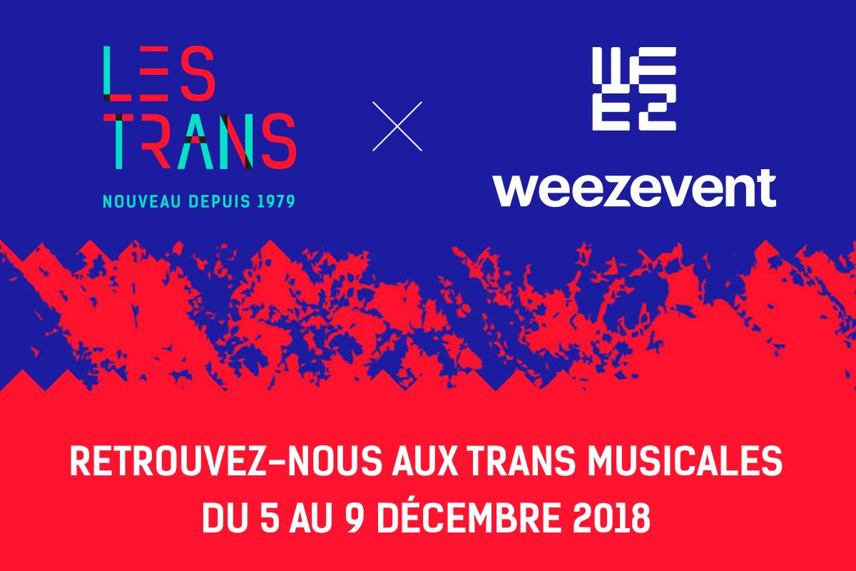 Retrouvez Weezevent aux Trans Musicales de Rennes 2018