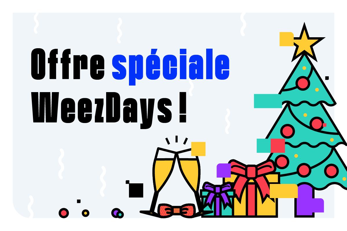 Une offre exclusive Weezevent pour votre événement de fin d'année!