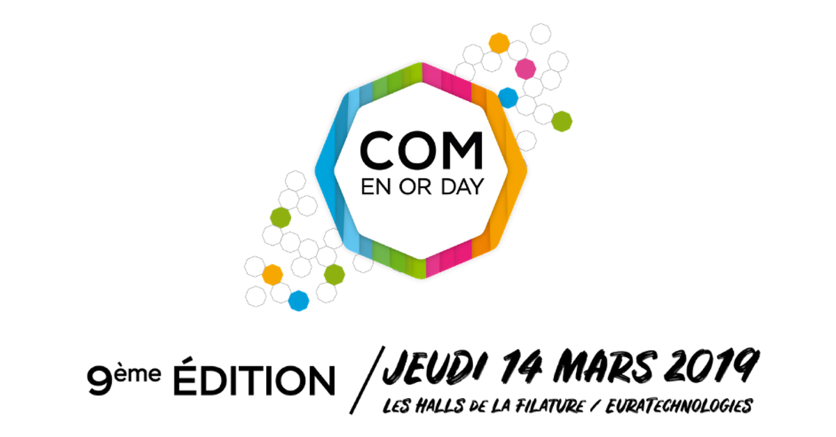Retrouvez Weezevent au Com' en Or DAY 2019