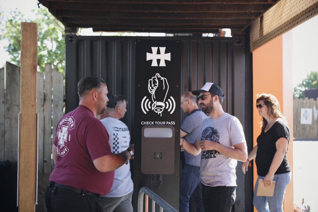Hellfest 2018 - Access Box, entrée VIP