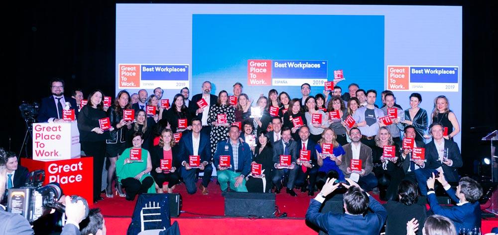 Gala de entrega de Premios Best Workplaces 2019: inscripciones ycontrol de acceso by Weezevent