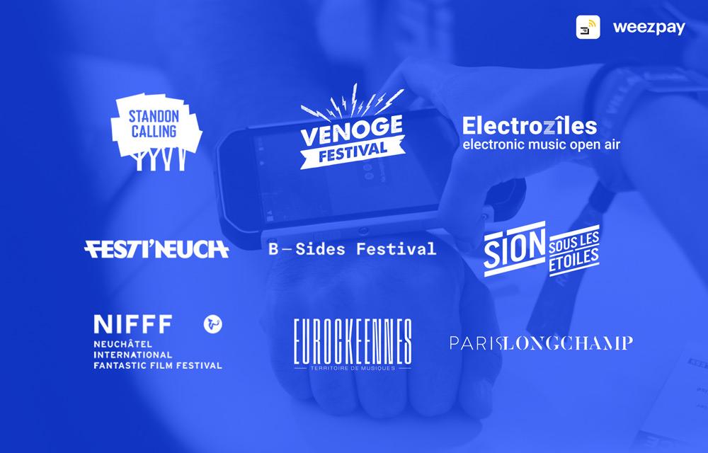 40 festivals et événements européens rejoignent l'aventure cashless