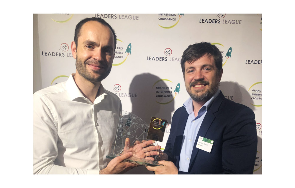Weezevent se lleva el premio  «Gand Prix Des Entreprises De Croissance 2019»