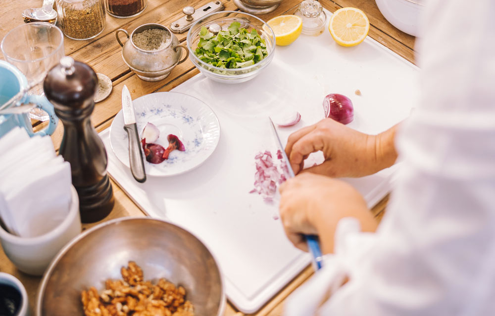 The perfect recipe for organising cooking classes
