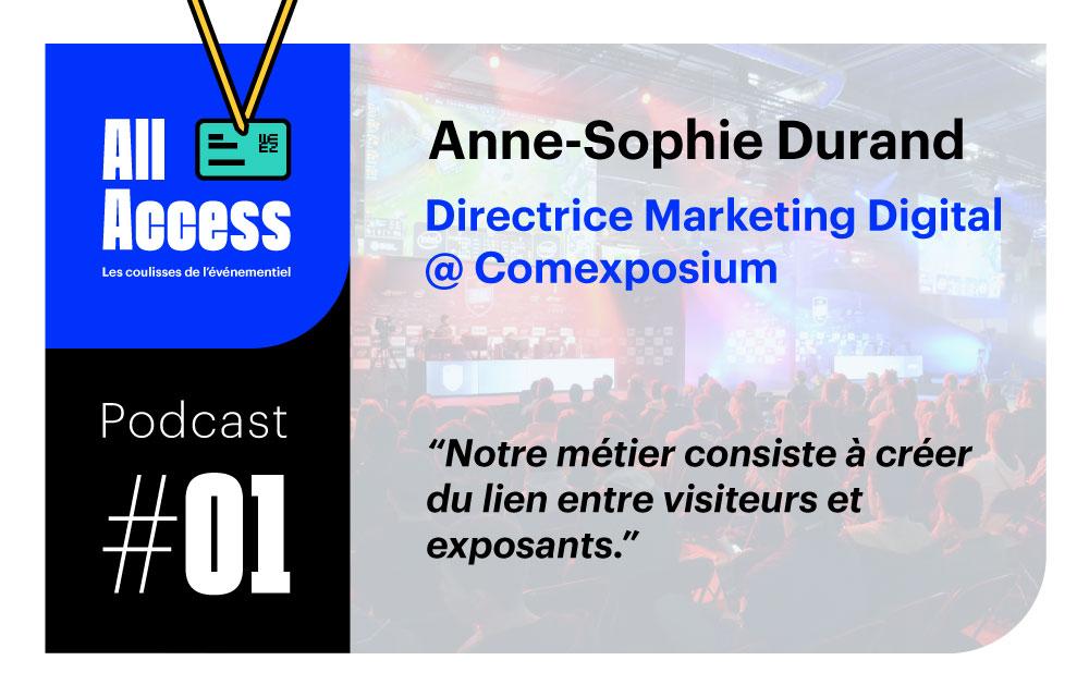 Podcast #1 — Comexposium : Créer du lien entre visiteurs et exposants dans les salons du monde entier