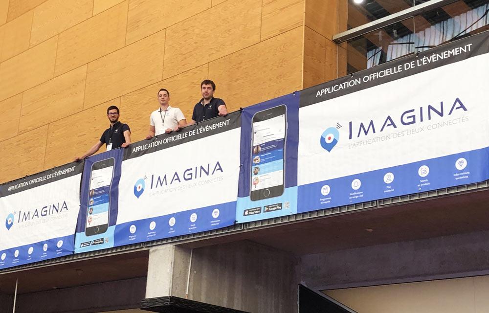 Imagina, l'application mobile de référence pour tous les évènements