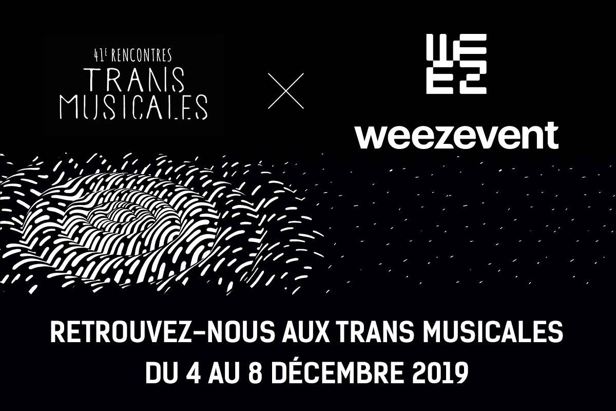Retrouvez Weezevent aux Trans Musicales de Rennes 2019