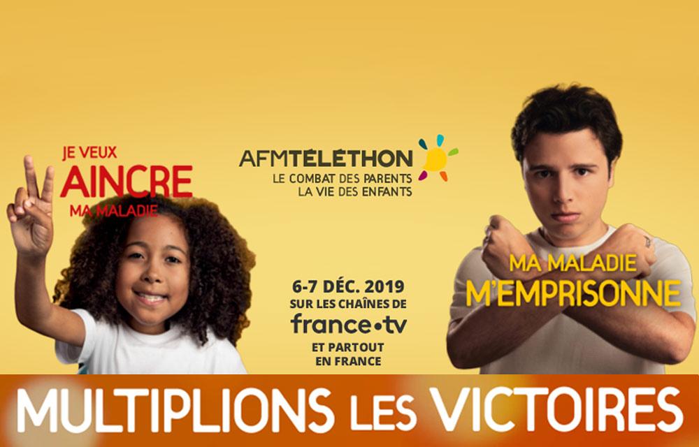 Weezevent soutient le Téléthon 2019!