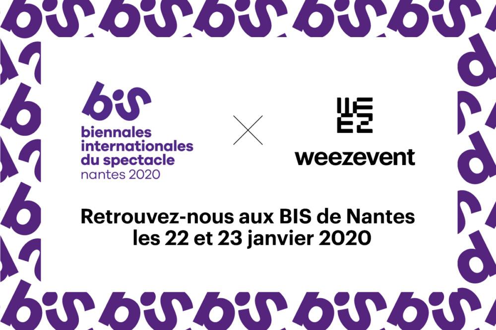 Weezevent vous attend à Nantes aux BIS 2020