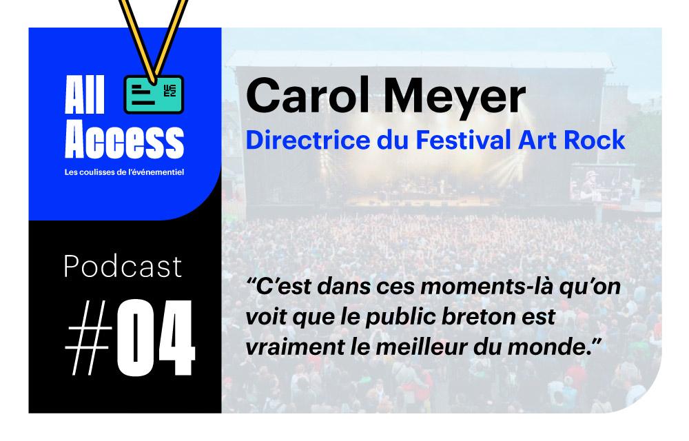 Podcast #4 — Art Rock : entretien avec Carol Meyer, Directrice d'un festival urbain pluridisciplinaire