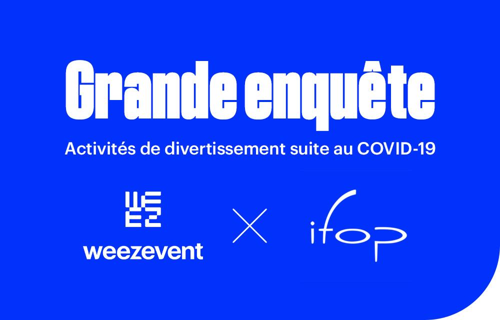 Grande enquête : les français et la reprise des activités de divertissement suite au Covid-19