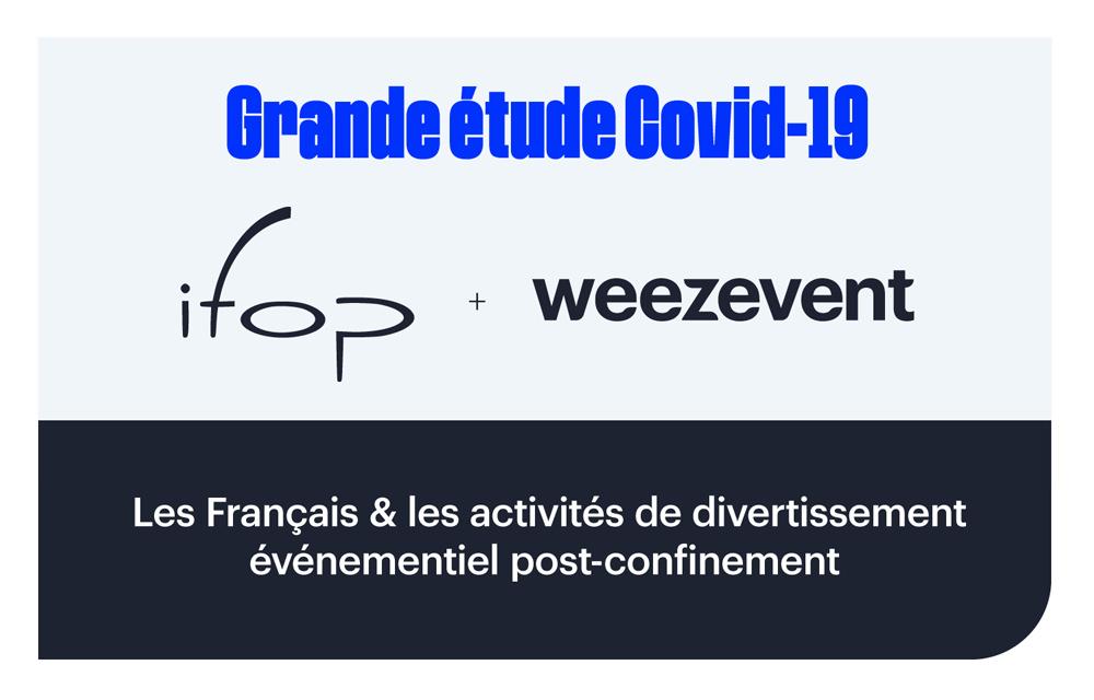 Étude Weezevent xIFOP : les Français et la reprise des activités de divertissement événementiel post-confinement