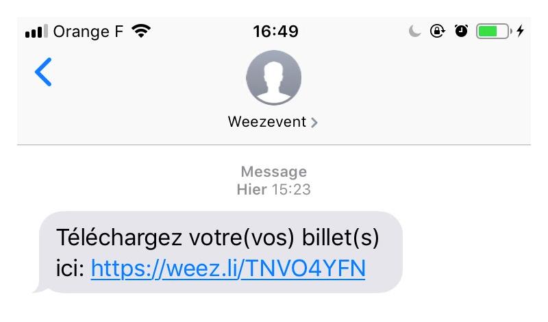 e-billet-sms