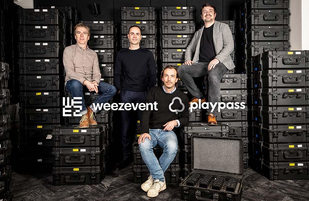 Weezevent et PlayPass fusionnent pour former un champion du cashless