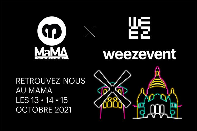 Weezevent vous donne RDV au MaMA2021